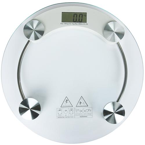 Весы напольные стекло (электр) (к.10) до 180кг S 7152
