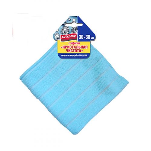 Салфетка из микрофибры с эффектом «Кристальная чистота« Аккурат 30*30