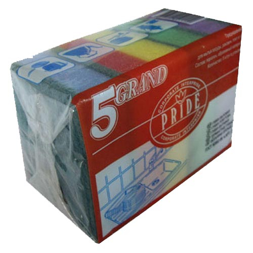 Губка бытовая 5-ка «Гранд« гх-033 г. Пенза РСВ-89373