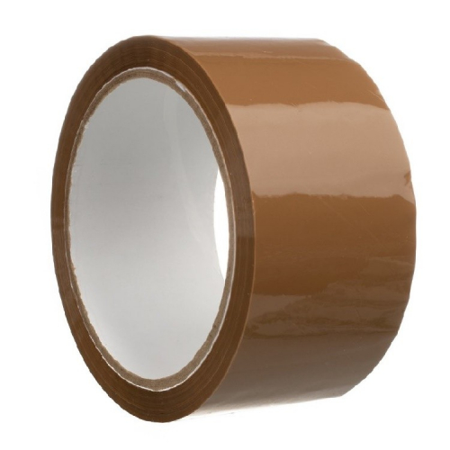 Скотч  коричневый уп /6шт