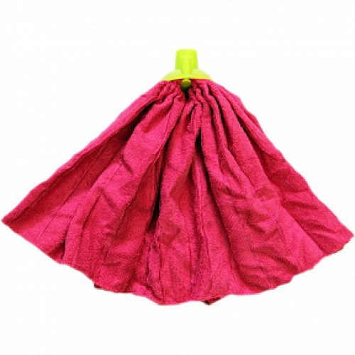 Насадка д/мытья пола Умничка микрофибра 120г юбка (50) малиновая ( M-120/C(50) ) 2-001