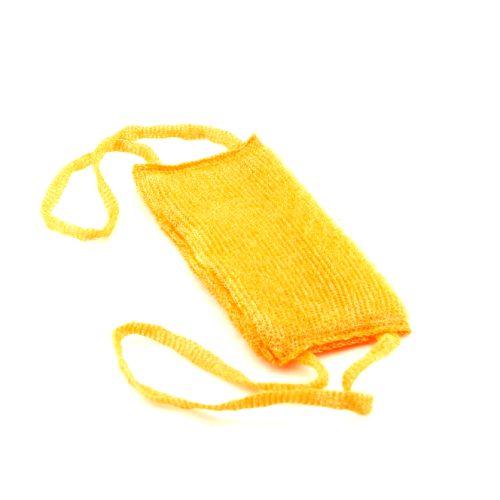 Мочалка для тела Короткая с поролоном 12х28см (100)