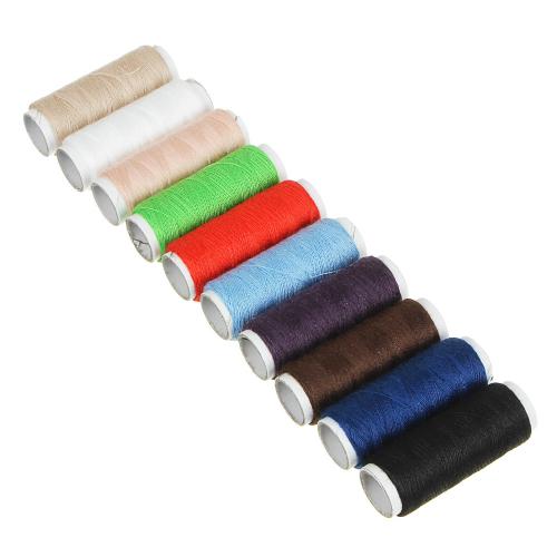 Нитки полиэстер цветные 40(намотка 200м) /10шт S-2266