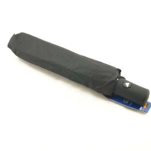 Зонт мужской полуавтомат черный 0058