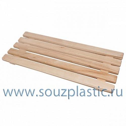 Решетка для пола деревянная 70*3,5*30см ( РВ-2 ) 38-471