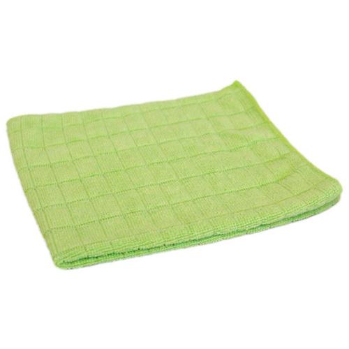 Салфетка из микрофибры М-03 вафельная (универс), цвет-зеленый, р-р 30х30см (310226) РСВ-198138