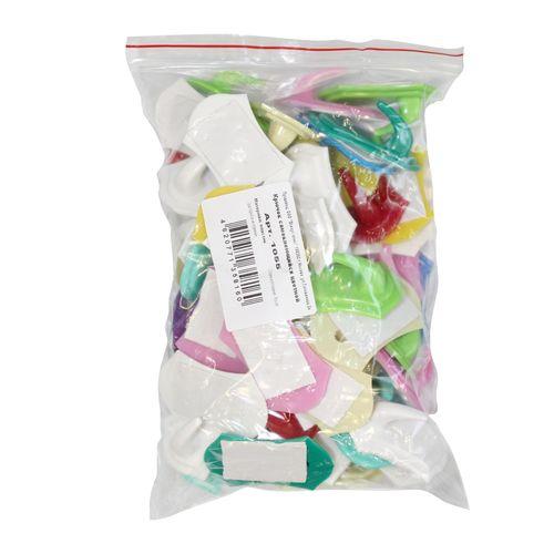 Крючок самоклей пластиковый цветной новинка (1055) РСВ-273783