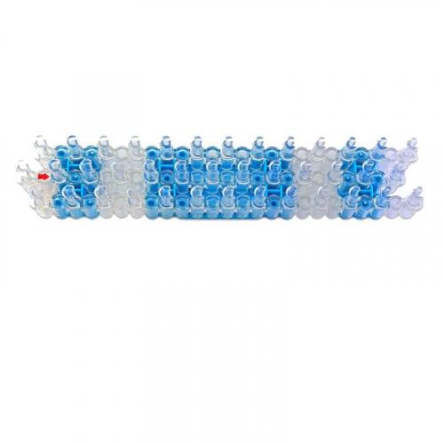Станок для плетения браслетов 25х5см 528 усиленный