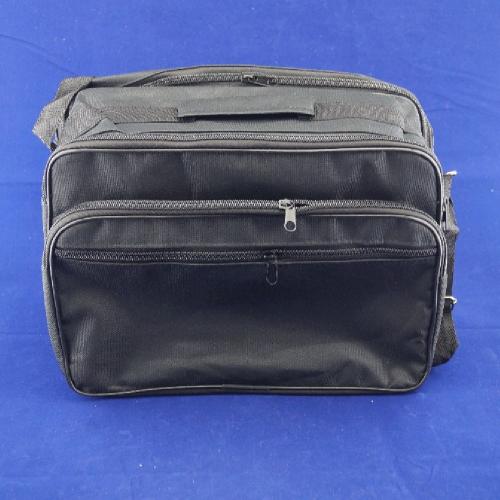 Сумка мужская тканевая  31х23 см  4 кармана
