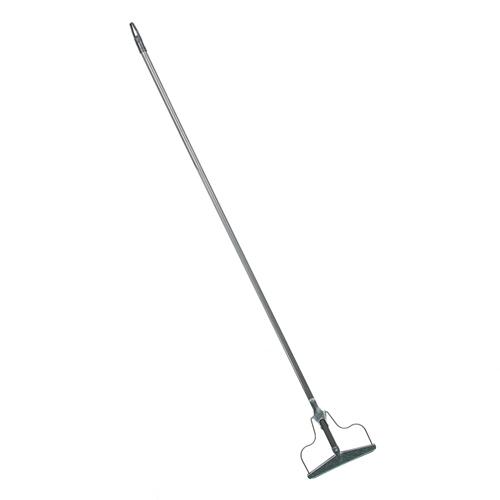 Швабра-тряпкодержатель металлический в сборе с металлической ручкой,сталь, 1220x190х20см (444-362) Р
