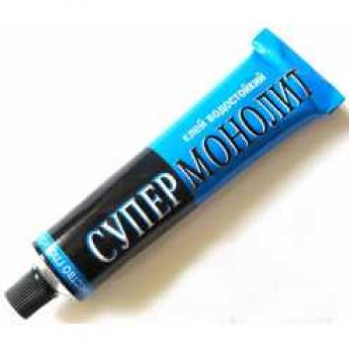 Клей Супер монолит 40гр (кор 200шт)