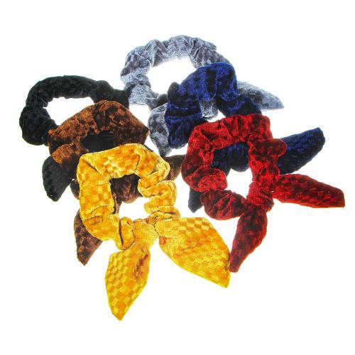 Резинка для волос, d8см, полиэстер, 3-6 цветов, РВ-02 BERIOTTI