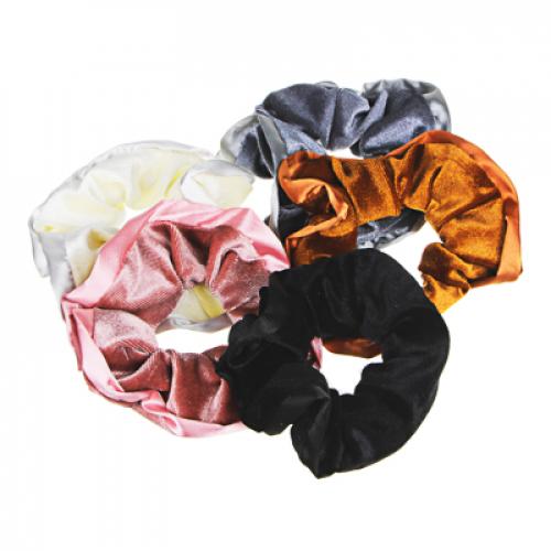 Резинка для волос, полиэстер, d9см, 5 цветов, РВ2019-7 BERIOTTI