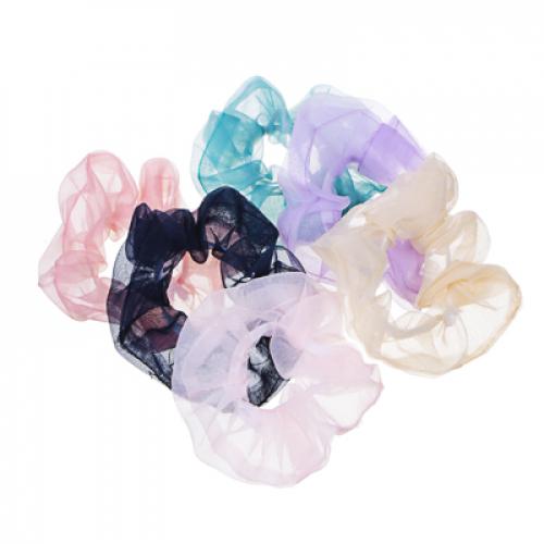Резинка для волос, полиэстер, d5см, 4-6 цветов, 16.11-1 BERIOTTI