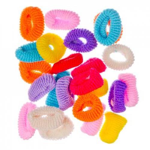 Набор резинок для волос 24шт, 3см, полиэстер, «Классика«, арт.FG-3009