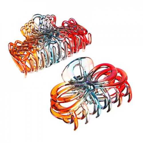Краб для волос, пластик, 8,5см, 2 дизайна BERIOTTI
