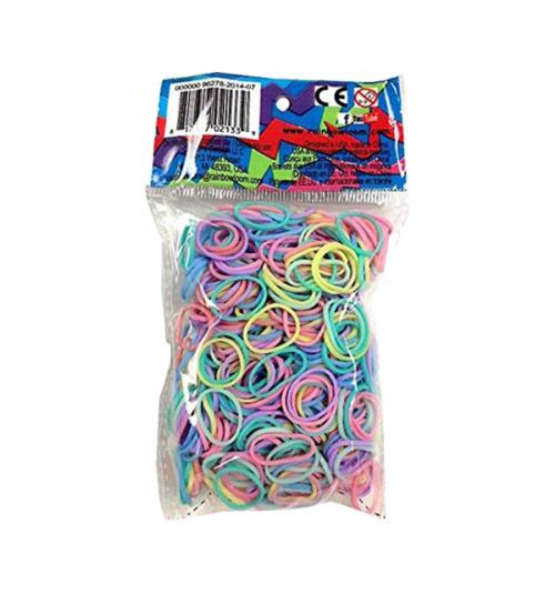 Резинки для плетения браслетов 600шт S-2176&12
