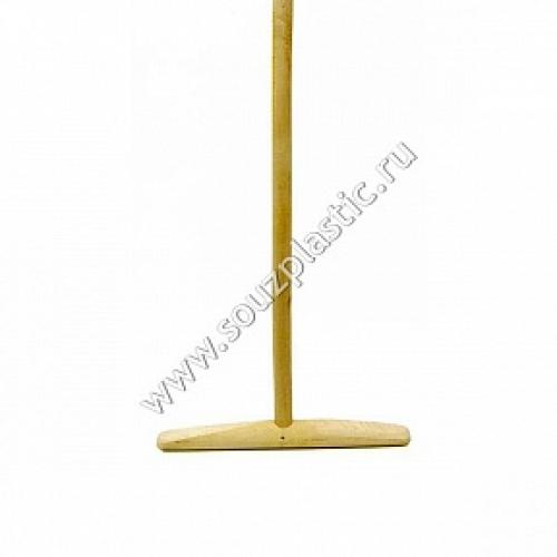 Швабра деревянная (ручка 25 мм, 1.2-1.3 м) Первый сорт(сухой) ( ш1с ) 40-0109