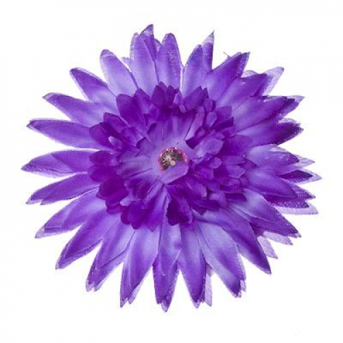 Заколка-цветок«Гербера«с зажимом и булавкой (уп.12шт)