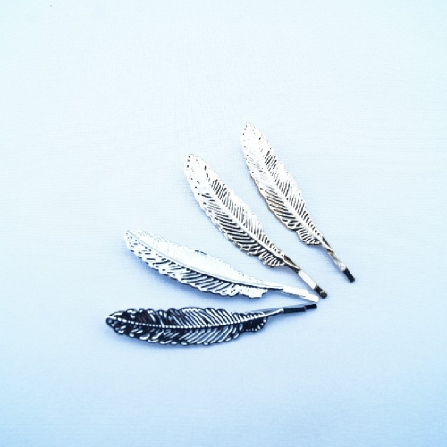 Невидимка метал. ПЕРО /10пар RA-14-102