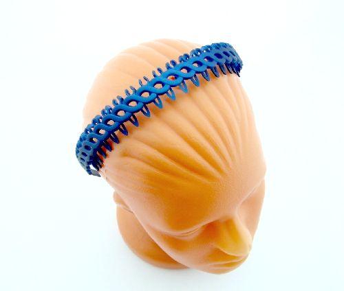 Ободок  для волос пластик  RА170