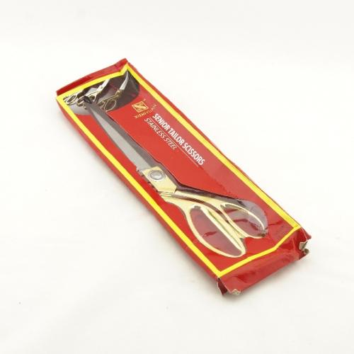Ножницы портновские, швейные зол. ручки, 265мм, К-38