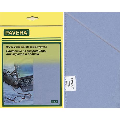 Салфетка «Для экрана и оптики« 30 х 40 см.(микрофибра) 210г. Р 204 РСВ-90682