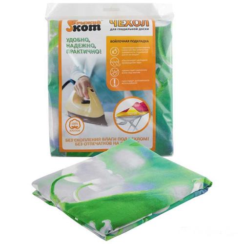 Чехол для гладильной доски (ткань+войлок), 120x40 см, арт.004515 РСВ-374633