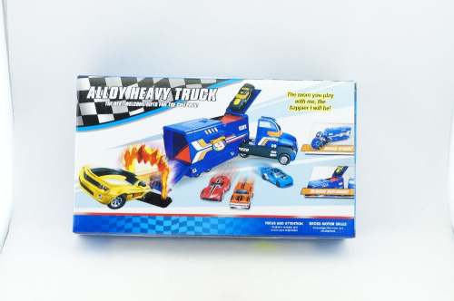Автовоз Hot Wheels №HW-110 + 2 авт.