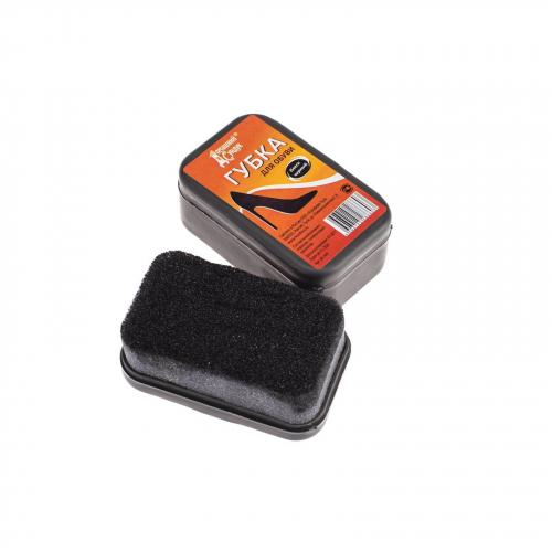 Губка для гладкой кожи« Домашний сундук« ЧЕРНАЯ
