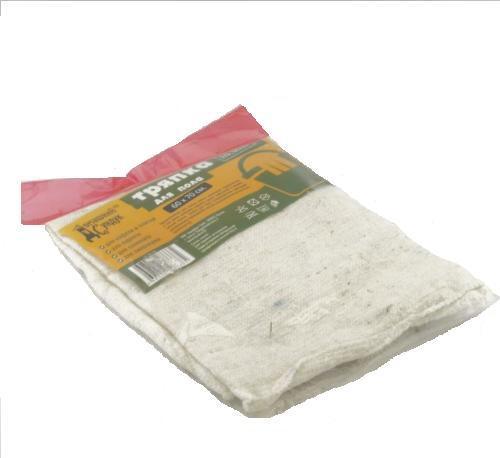 Тряпка для пола «Домашний сундук« Х/Б БЕЛАЯ овер. 60*70 см