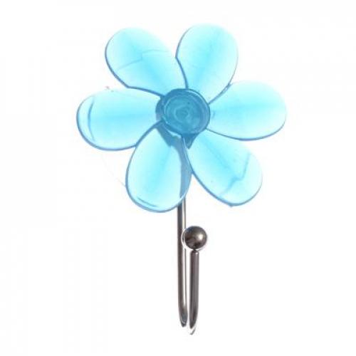Крючок на присоске «Прозрачный« ВЕСЕЛЫЙ РОДЖЕР цветной