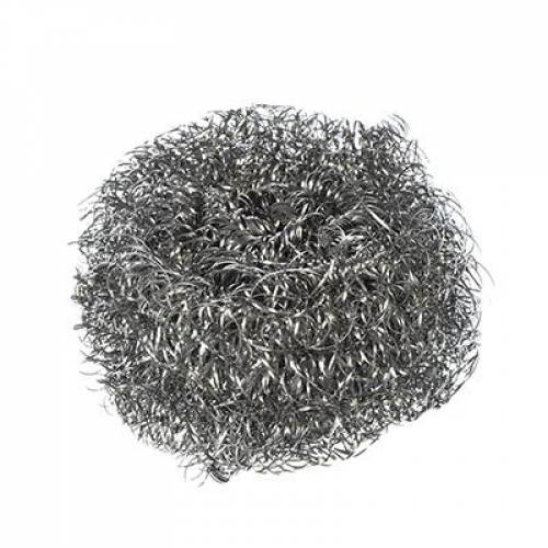 Губка металлическая 1шт x 15гр (спираль, сталь оцинкованная) VETTA