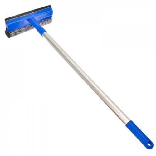 Окномойка с телескопической ручкой 110см, синяя, арт.KFC004 УЦЕНКА