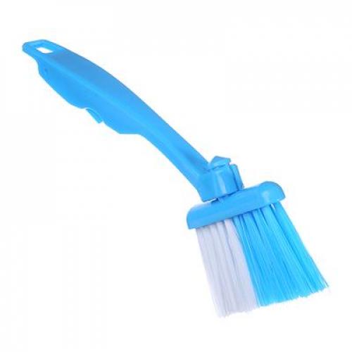 Щетка для чистки оконных проемов, поворот 360 гр. 21х7см, пластик