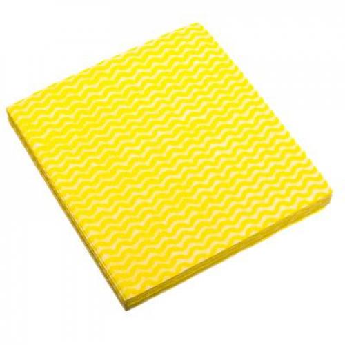 Салфетка перфорированная 10шт, нетканый материал, 30x38см, арт СХ010