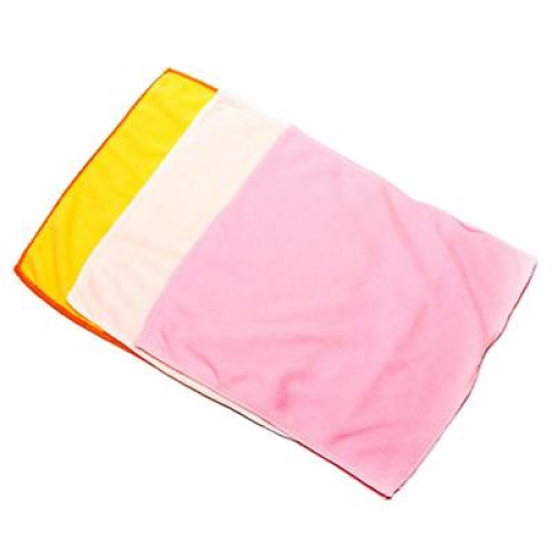 Салфетка из микрофибры эконом, 30х30см, 3 цвета VETTA
