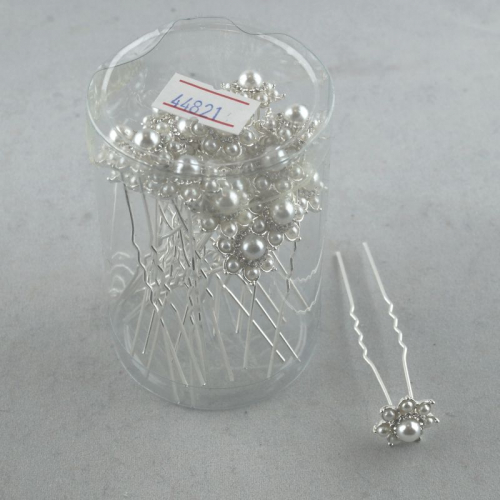 Шпилька стразы цветок СН 1694/20 шт