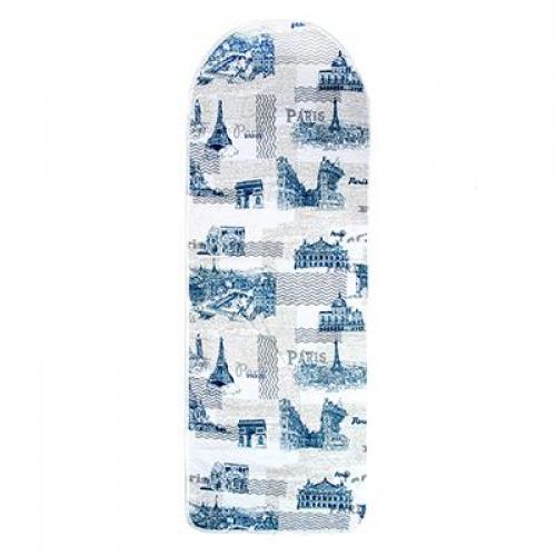 Чехол для гладильной доски на шнурке, хлопок, подкладка хлопок, VETTA Город 140х50см
