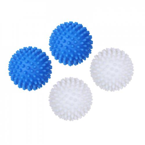 Набор мячей для стирки и сушки белья 2шт, ПВХ, d6,5см VETTA