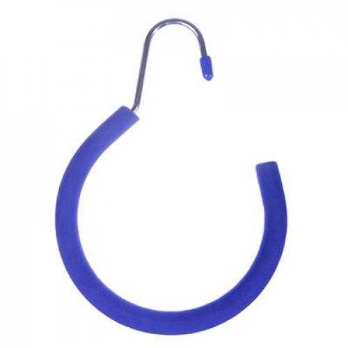 Вешалка металлическая кольцо для ремней и аксессуаров с покрытием из вспененного ПВХ  VETTA