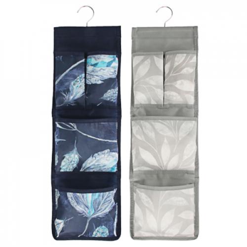 Органайзер подвесной 4 кармана, 18x60см, спанбонд, 2 дизайна VETTA Санремо