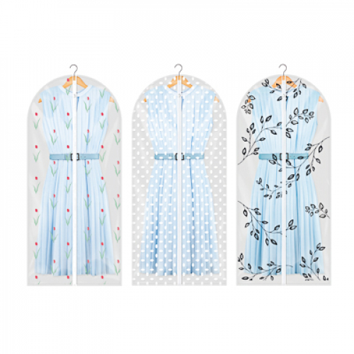 Чехол для одежды, ПЕВА, 60х130см, 2 дизайна VETTA Винсент