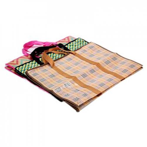 Сумка хозяйственная,нетканый материал, 60x45x20см, «Индия«