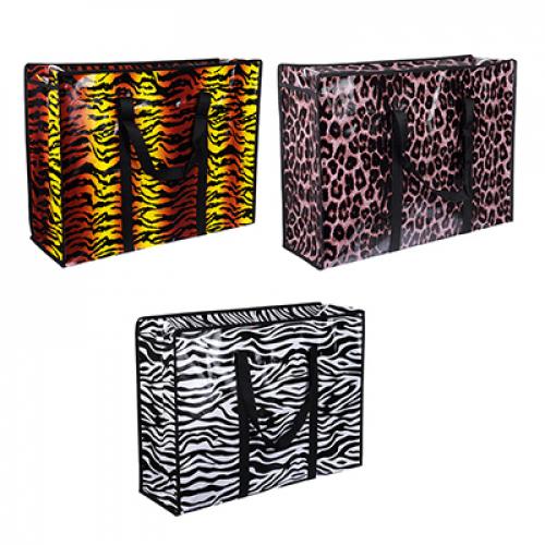 Сумка хозяйственная, полипропилен, нетканый материал, арт.134, 60x45x20см, 3 дизайна VETTA