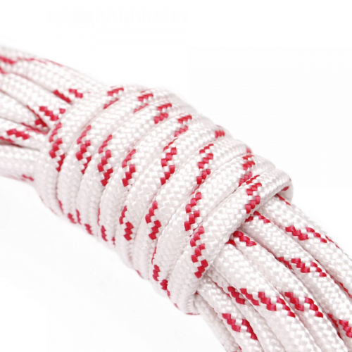 Веревка хоз.ПА плетеная 16-и пр. D=8mm L-15m уп.25