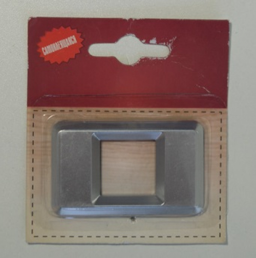 Номер дверной KORAL (0) хром (блистер)