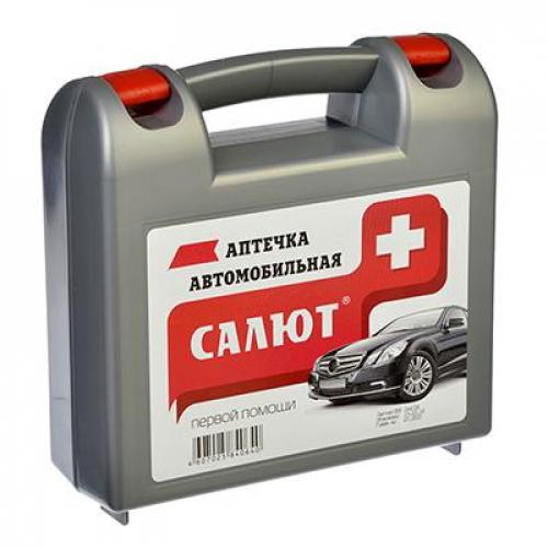 Аптечка первой помощи автомобильная ФЭСТ «Салют« 21x21x7,5см