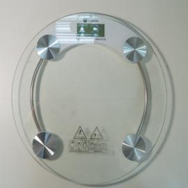 Весы напольные стекло (электр) (к.10) круглые