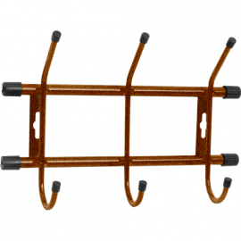 Вешалка настенная 285*180*67 мм (3 крючка) ВН3 РСВ-200553